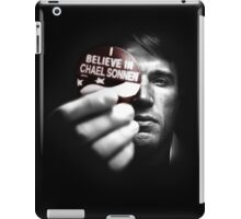 Believe in Chael iPad Case/Skin