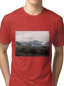 Heavenly Hills, Valley near Gundagai, NSW, Australia. Tri-blend T-Shirt
