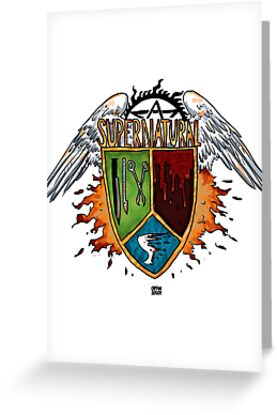 Supernatural Coat of Arms #1 by captainshroom