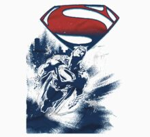 Superman Flying Man of steel by uchapati
