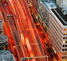 Tokyo Traffic by David Watts
