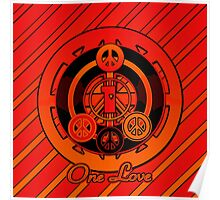 One Love (Red Variant) Poster
