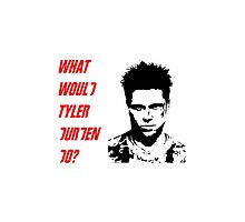What Would Tyler Durden Do? by Miguel Queiruga