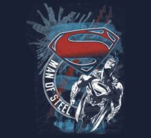 Flying Man of steel Superman by uchapati