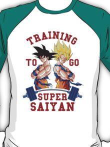 Training to go Super Saiyan 3 T-Shirt