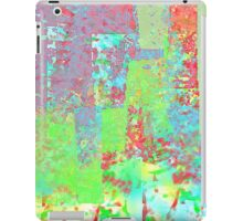 Decorative Abstract in Red, Orange, Green, Blue, and Purple iPad Case/Skin