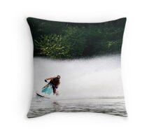 Jet-Ski Throw Pillow