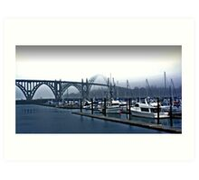 Yaquina Harbor Art Print