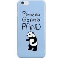 Pandas Gonna Pand iPhone Case/Skin