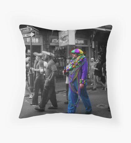 Cajun Cool Throw Pillow