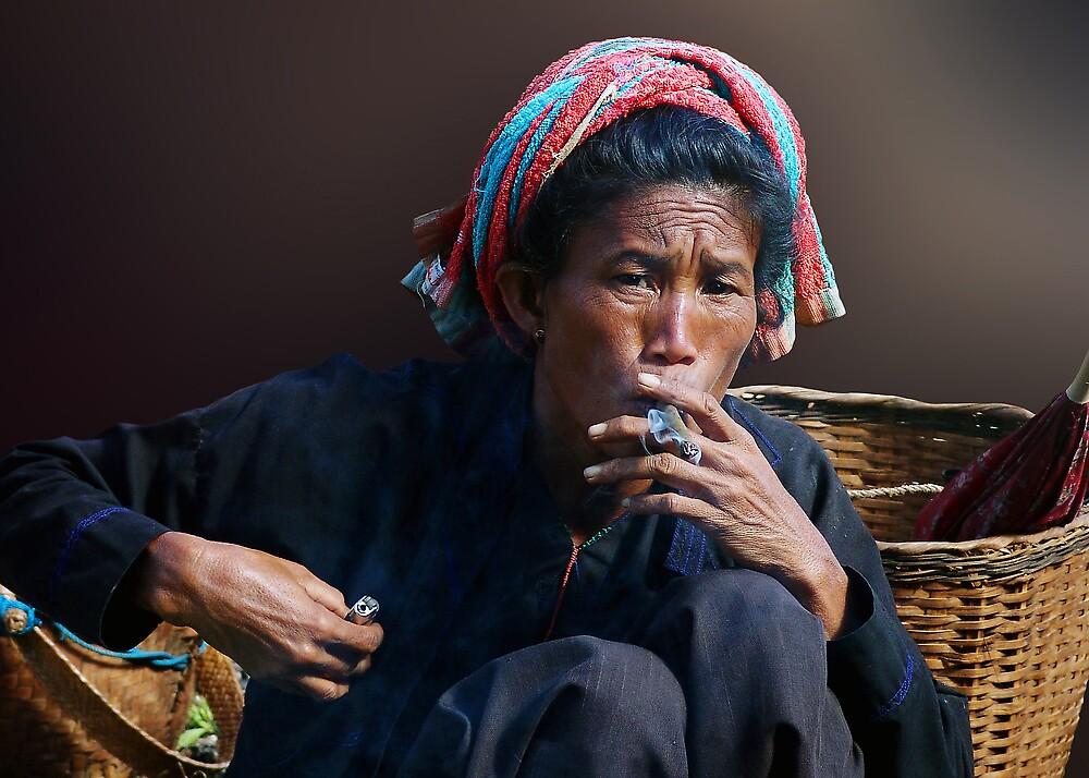 SMOKE - BURMA by Michael Sheridan