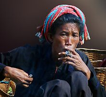 SMOKE - BURMA by Michael Sheridan