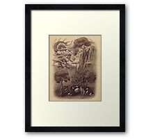 Journey to the West  Framed Print