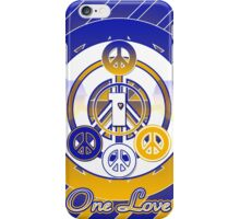 One Love (Blue Variant) iPhone Case/Skin