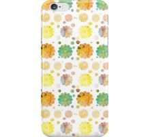 Vintage pastel watercolor abstract floral pattern iPhone Case/Skin