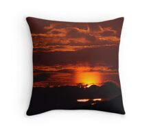 No Faith in Faith (Don't let the Sun set on Reason) Throw Pillow