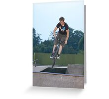 Skate Park - Getting More Air Greeting Card