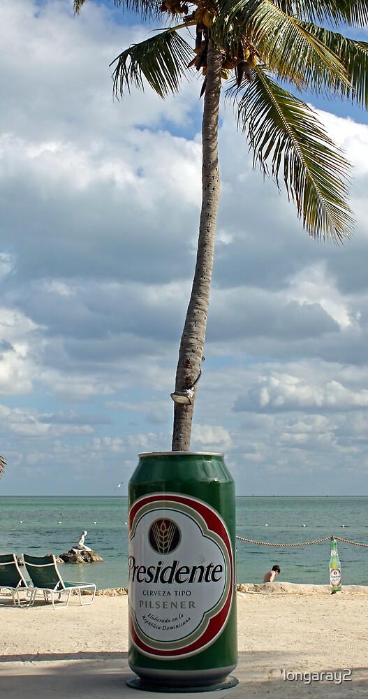 Presidente Beer in the Keys by longaray2