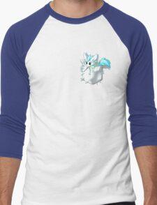 Pocket Patch! Men's Baseball ¾ T-Shirt