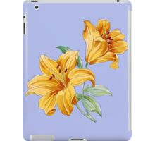Yellow orchides iPad Case/Skin