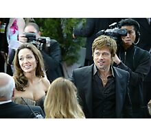 brad and jolie  Photographic Print