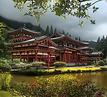 Byodo-In Temple by Portia Soderberg