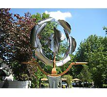 Art Sculpture Garden Photographic Print