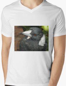 Beautiful Bird, Botanic Gardens, Canberra, Australia. Mens V-Neck T-Shirt