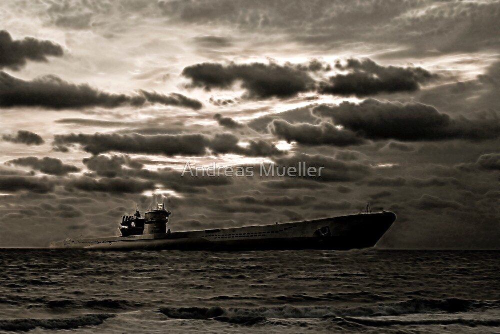 Das Boot by Andreas Mueller