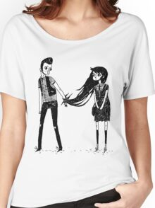 Please Don't Leave Me... Women's Relaxed Fit T-Shirt