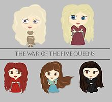 The War of the Five Queens by Alice Edwards