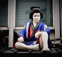 Autumn in Japan:  Watching Over the Masses by Jen Waltmon