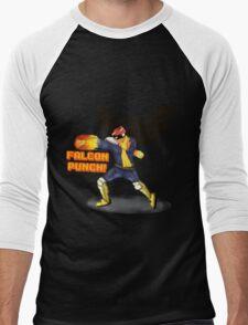 Nintendo - Falcon Punch! Men's Baseball ¾ T-Shirt