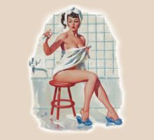Bathing Pin-up by Rickmans
