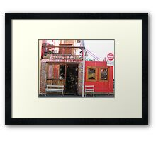 Cuban Cigar shop at West End, Brisbane, Qld. Australia Framed Print
