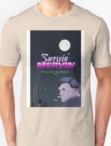 Swervin' Mervin 80s Arcade Racing Game Unisex T-Shirt