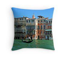 Vibrant Venice Throw Pillow