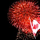 Canada Day Fireworks by Dan Shiels
