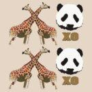 XOXO Wild Animals by cheeckymonkey