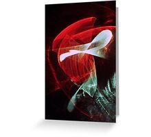 Light abstraction Greeting Card