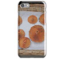 Saffron Cap Mushroom iPhone Case/Skin