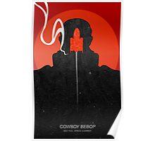 Cowboy bebop - Jet Black Poster
