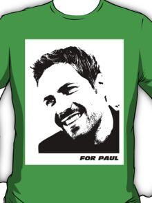Fast and Furious - Paul Walker tribute (T-shirt) T-Shirt