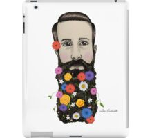 Floral He iPad Case/Skin