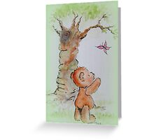 Butterfly Bear Greeting Card