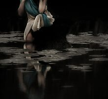 Girl By water , Nudgee by mduffus