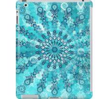 turquoise mandala iPad Case/Skin