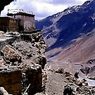 mountain gompa. spiti lahaul, india by tim buckley | bodhiimages