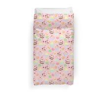 sweet cupcake pattern Duvet Cover
