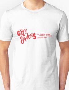 City Gardens - Punk Card Tee Shirt (v. 4.0 red) T-Shirt